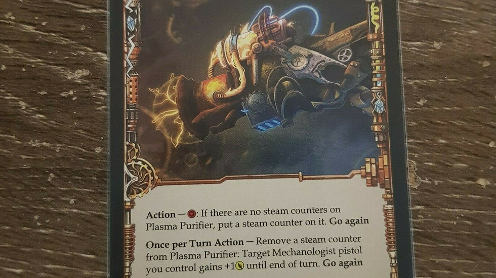 Plasma Purifier - Flesh and Blood - Non-foil x1 Near Mint CCG TCG