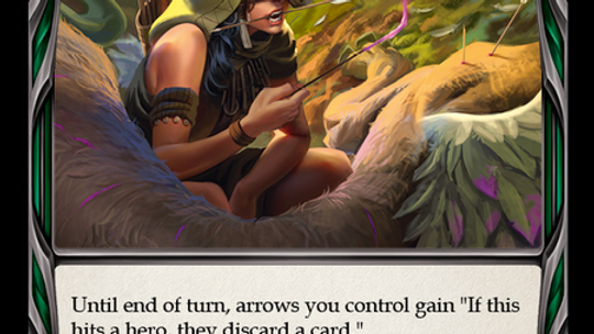Flesh and Blood TCG Crucible of War Poison the Tips