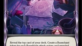 Sutcliffe's Research Notes (Blue) Foil Crucible of War Flesh and Blood TCG