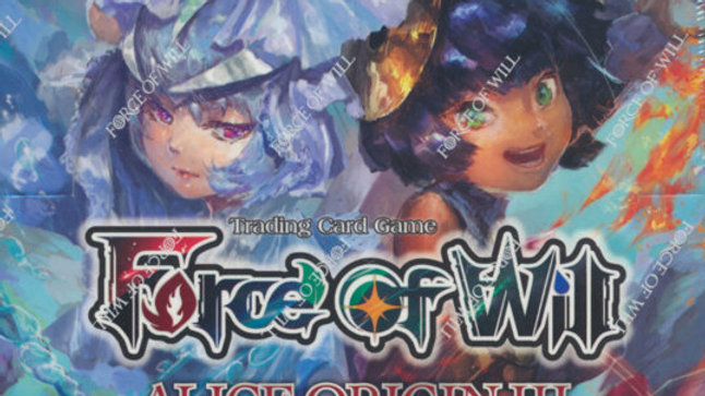 Force of will Alice Origin III 3 Booster Box brand new! FOW TCG