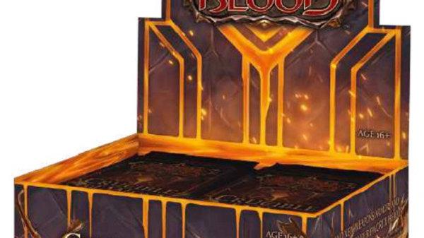 Flesh and Blood TCG Crucible of War Booster Box 1st Edititon
