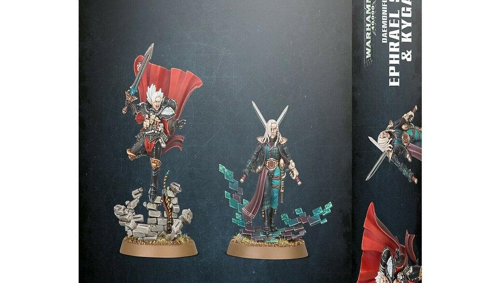 Warhammer 40K Daemonifuge Ephrael Stern and Kyganil