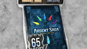 Argent Saga TCG CARD SLEEVES - OFFICIAL CARD BACK