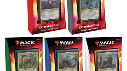 Commander 2020 Deck Set of 5 | English | New Sealed | MTG Ikoria