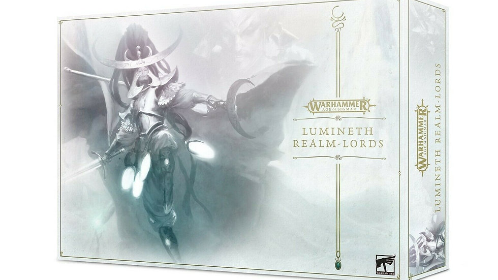 WARHAMMER AGE OF SIGMAR- LUMINETH REALM-LORDS LAUNCH SET