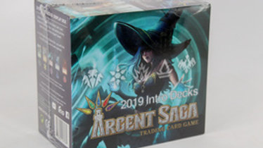 Argent Saga: 2019 Intro Deck Display Box