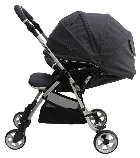 Capella - Cony 雙向舒適型嬰兒手推車 - 深灰色