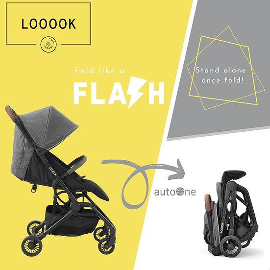 LOOOOK - AutoOne閃速收車舒適小巧嬰兒手推車