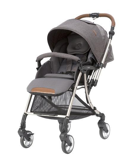 Capella - freemove 四輪轉向 5.8kg 全功能嬰兒手推車 - 深灰色
