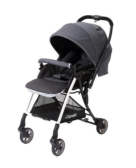 Capella - 206 Wi-lite Plus 輕巧闊身雙向嬰兒手推車 - 藍