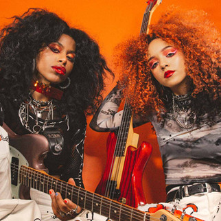 NOVA TWINS. An iconic duo that´s not afraid to speak out the truth in the metal scene !