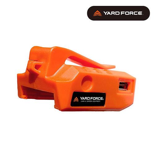 USB充電用アダプターLEDライト付き LX PB24-JP