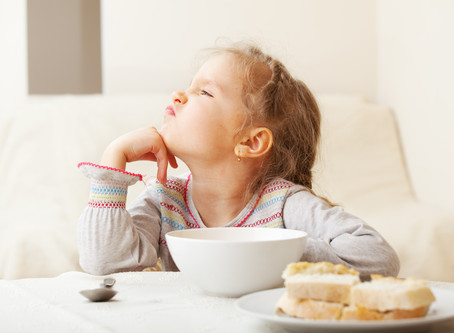 Children are FUSSY eaters - it's not you, it's them!