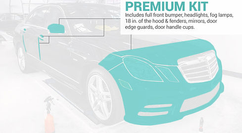 XPEL Ultimate, clear bra, paint protection film, clear bra installer