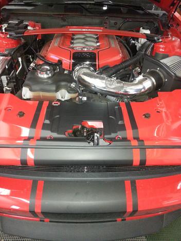 2015 Mustang - 3M Matte Black Custom Str