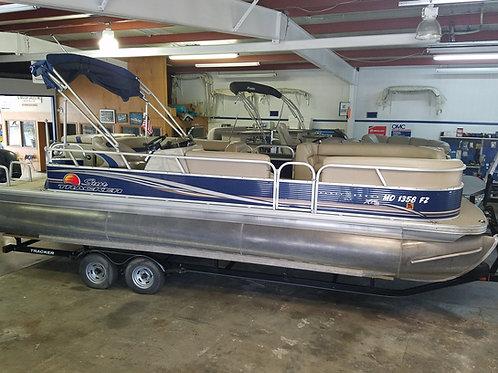 2012 Suntracker Party Barge 24 DLX XP3