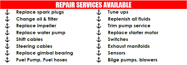 Repair Services Availale