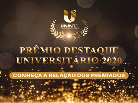 Estudantes da FIED levam troféus no III Prêmio Destaque Universitário
