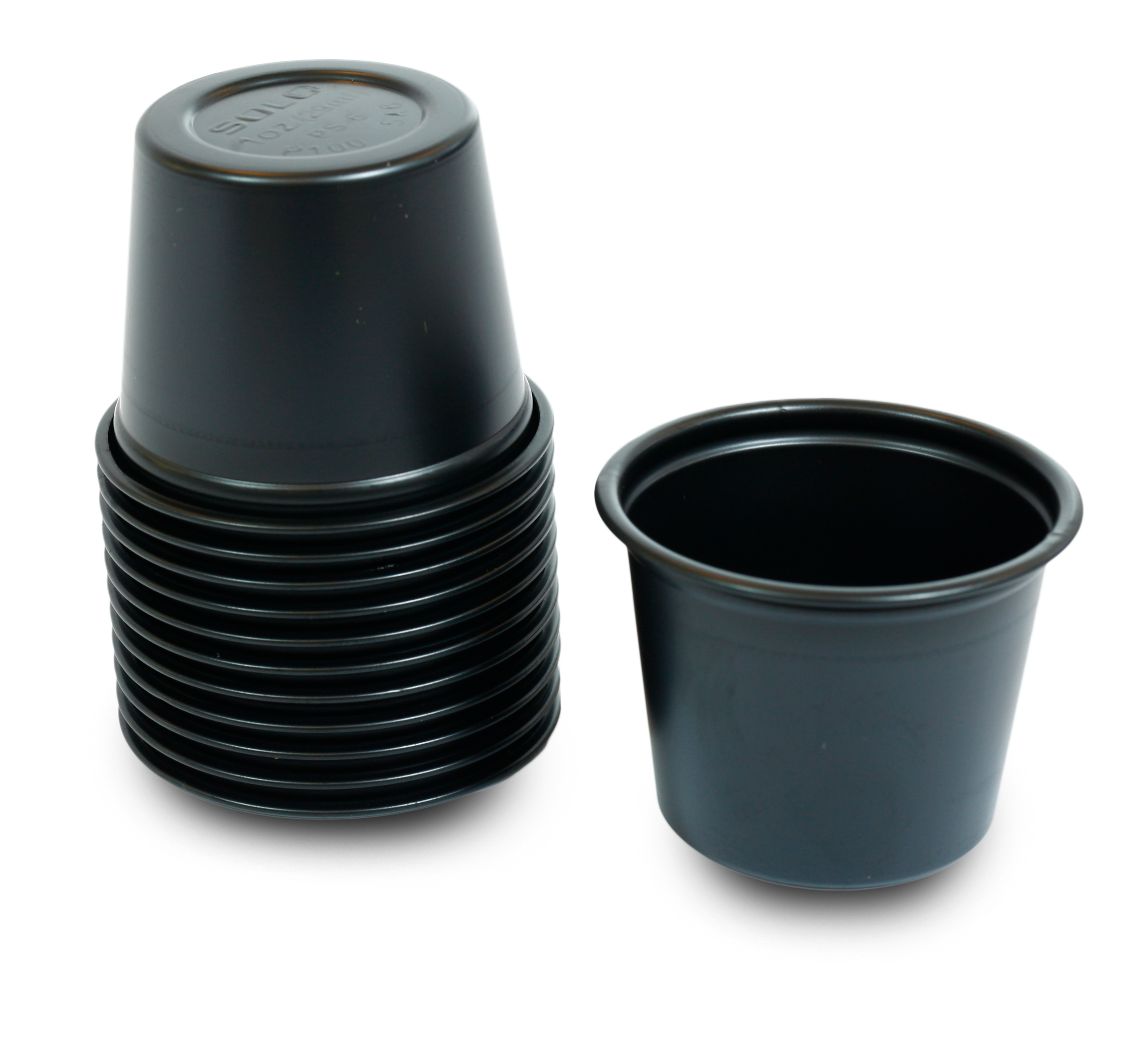 Soy-cup and lid
