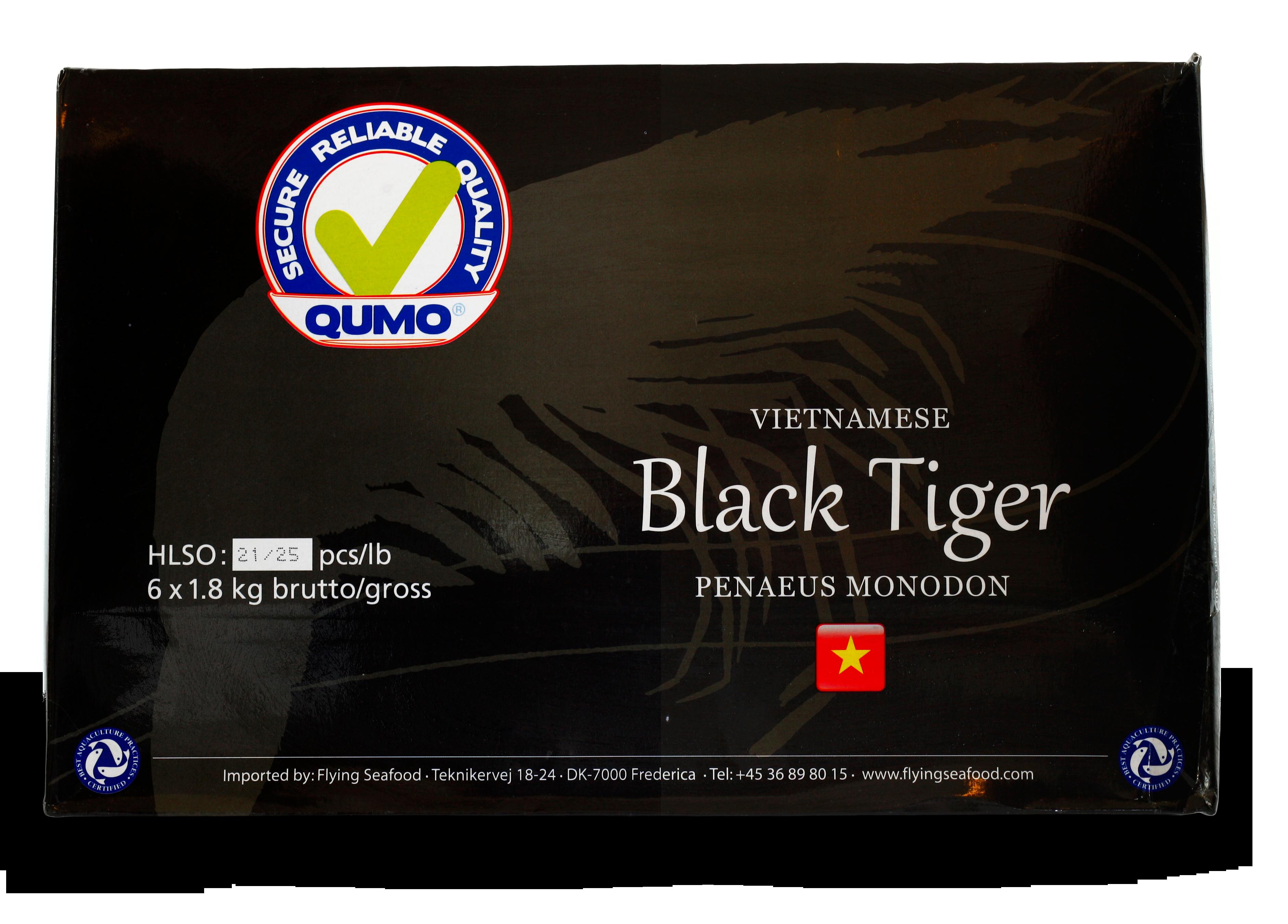 Black tiger prawn