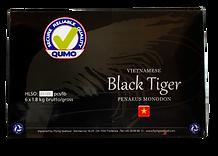 Qumo, Black Tiger, betyder bærekraftige reker af den højeste kvalitet.