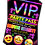 Thumbnail: Cinema Movie, Party Invitation. VIP Pass. Emoji. Red, Pink or Blue