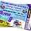 Thumbnail: Snow Tubing, Birthday Party Invitation. Ticket Style, Blue, Pink or Purple