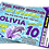 Thumbnail: Swimming Pool, Dolphin, Party Invitation. Ticket Style, Blue, Pink or Purple