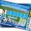 Thumbnail: Football, Soccer Party Invitations. Ticket Style + Picture. Red1, Red2, Sky Blue