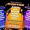 Thumbnail: Rock Climbing, Party Invitation. Indoor, Outdoor, Purple, Blue or Orange