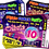 Thumbnail: Disco, Dance, Birthday Party Invitation. Ticket Style Red, Pink or Blue