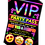 Thumbnail: Hot Tub, Pamper, Birthday Party Invitation. VIP Pass. Emoji. Red, Pink or Blue