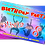 Thumbnail: Trampoline, Bounce, Birthday Party Invitation. Pink, Red or Blue