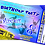 Thumbnail: Trampoline, Bounce, Birthday Party Invitation. Ticket Style, Blue, Red or Pink
