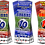 Thumbnail: Football, Soccer, Party Invitation. Ticket Style, Blue, Red1 or Red2,