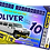 Thumbnail: Hummer, Limousine, Birthday Party Invitation, Ticket Style, White, Pink or Black