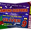 Thumbnail: Camping, Sleepover, Birthday Party Invitation, Ticket Style, Blue, Pink or Red