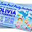 Thumbnail: Swimming Pool, Dolphin, Birthday Party Invitation. Pink, Red or Blue