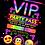 Thumbnail: Recording Studio, Birthday Party Invitation. VIP Pass. Emoji. Red, Pink or Blue