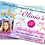 Thumbnail: Magical Unicorn, Birthday Party Invitations. With Picture. Red, Purple or Pink