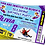 Thumbnail: Snow Sledging, Birthday Party Invitation. Ticket Style, Blue, Pink or Purple