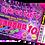 Thumbnail: Pamper, Makeover, Birthday Invitation, Ticket Style. Blue, Purple, Pink