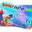 Thumbnail: Bouncy Castle Party Birthday Invitation. Red, Pink or Blue