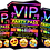 Thumbnail: Hot Tub, Sleepover, Birthday Party Invitation. VIP Pass. Emoji. Red, Pink, Blue