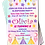 Thumbnail: Teepee, Camping, Sleepover, Birthday Party Invitation. Pink, Blue or Red