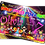 Thumbnail: Fancy Dress, Disco, Birthday Party Invitation. Red, Pink or Blue