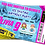 Thumbnail: Ice Skating, Birthday Party Invitation. Ticket Style, Blue, Pink or Purple
