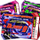 Thumbnail: Laser Tag, Quest, Birthday Party Invitation, Ticket Style, Blue, Pink or Red