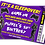 Thumbnail: Sleepover, Gamer, Birthday Party Invitation. Ticket Style, Red, Purple or Blue