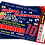 Thumbnail: Sleepover, Cinema, Birthday Party Invitation. Ticket Style, Red, Pink or Blue